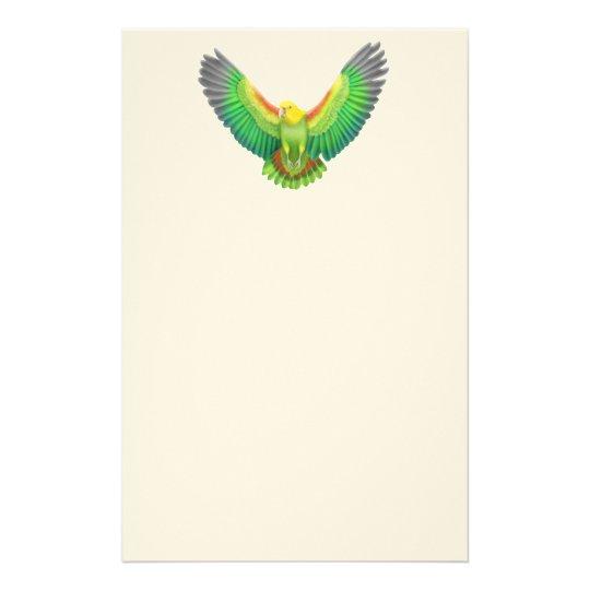 Double Yellow Headed Amazon Parrot Stationery