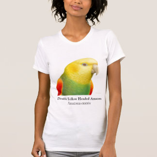 Double Yellow Headed Amazon Scoop Neck T-Shirt