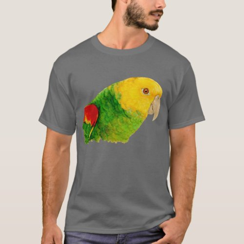 Double Yellow Headed Amazon T_Shirt