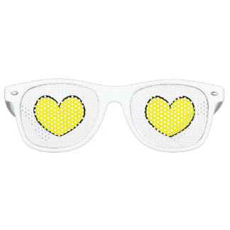 Double Yellow Heart Party Shades 0001