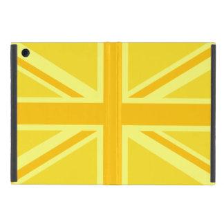 Double Yellow Union Jack iPad Mini Case