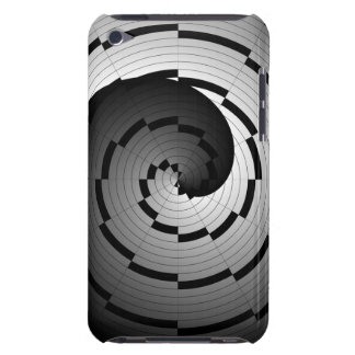 Double Yin Yang Spiral iPod Touch Case-Mate Case