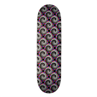 Double Yin Yang Spiral Skateboard