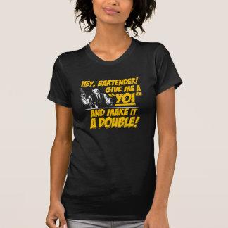 Double Yoi black T-Shirt