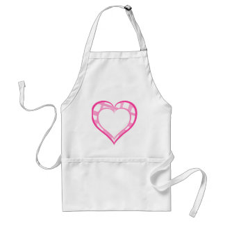 Doubled Valentine Heart Apron