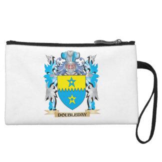 Doubleday Coat of Arms - Family Crest Wristlet Purse