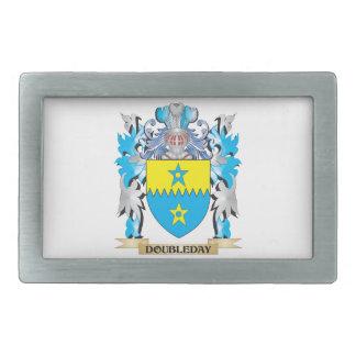 Doubleday Coat of Arms - Family Crest Rectangular Belt Buckles