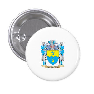 Doubleday Coat of Arms - Family Crest Button