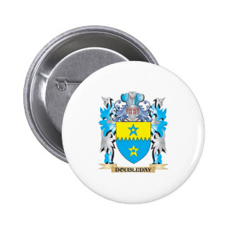 Doubleday Coat of Arms - Family Crest Buttons