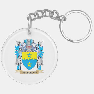 Doubleday Coat of Arms - Family Crest Key Chain