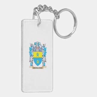 Doubleday Coat of Arms - Family Crest Rectangular Acrylic Keychains