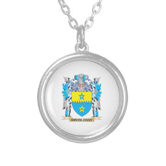 Doubleday Coat of Arms - Family Crest Personalized Necklace