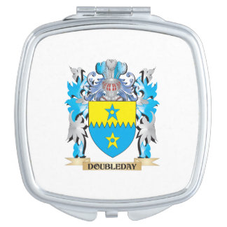 Doubleday Coat of Arms - Family Crest Mirrors For Makeup