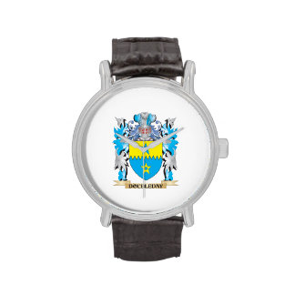 Doubleday Coat of Arms - Family Crest Wrist Watch