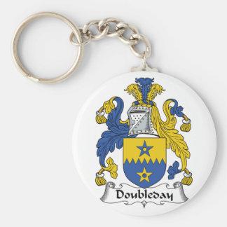Doubleday Family Crest Key Chain