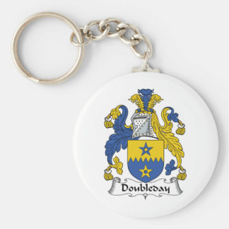 Doubleday Family Crest Key Chains