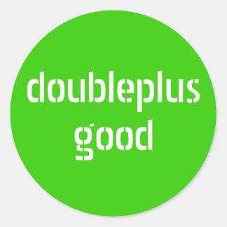 doubleplusgood stickers