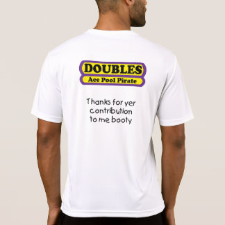 Doubles - Ace Pool Pirate - Awesome Microfiber T-shirts