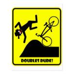 DOUBLES DUDE-41 POSTCARD