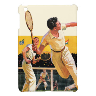 Doubles Tennis Match iPad Mini Cover
