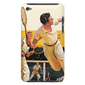 Doubles Tennis Match iPod Touch Case