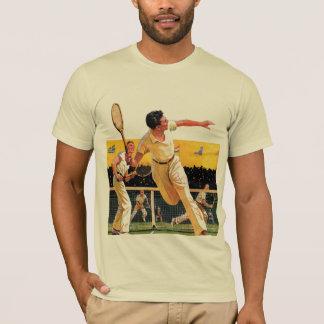Doubles Tennis Match T-Shirt