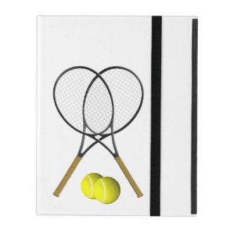 Doubles Tennis Sport Theme iPad Cover