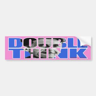 Doublethink Bumper Sticker