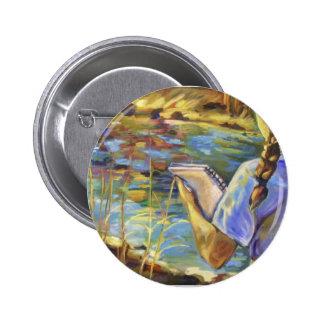 Doublette of a Doublette Pinback Button