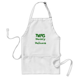Doubly Delicous, TWINS Adult Apron
