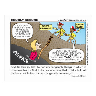 Doubly Secure postcard