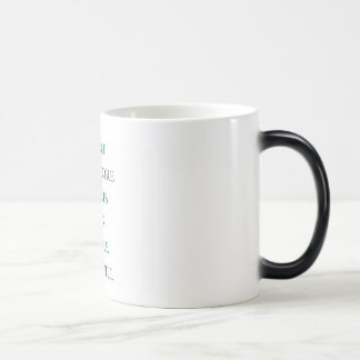 Doubt is the dream killer magic mug