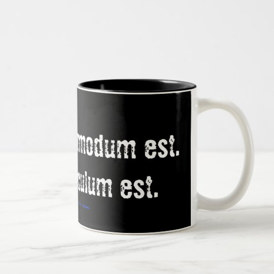 Doubt is uncomfortable. Certainty is ridiculous... Two-Tone Coffee Mug