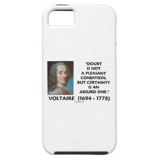 Doubt Not Pleasant Condition Certainty Voltaire iPhone SE/5/5s Case