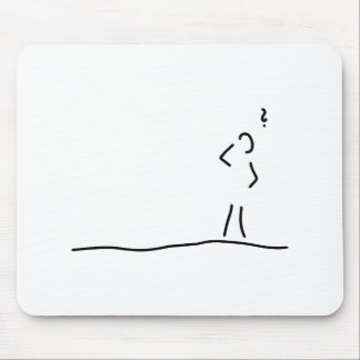 doubt of alzheimer dementia mouse pad