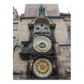 """doubt thou the stars are fire"" Astronomical Clock Postcard"