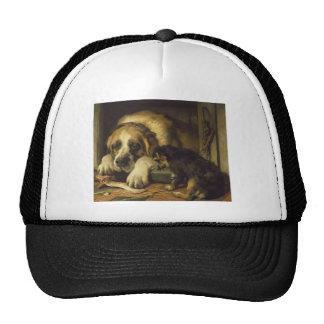 Doubtful Crumbs by Edwin Henry Landseer Trucker Hat