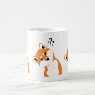 Doubtful Shiba cup inu