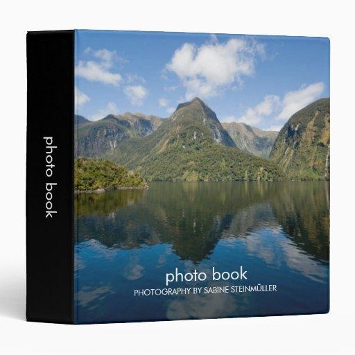 Doubtful Sound Photo Book Binder