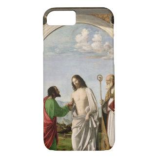 Doubting Thomas with St. Magnus, c.1504-05 iPhone 8/7 Case