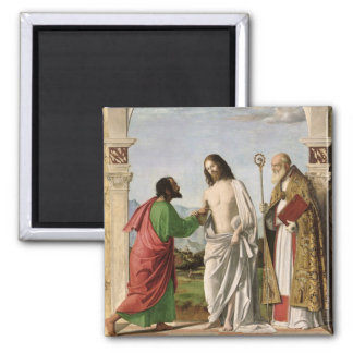 Doubting Thomas with St. Magnus, c.1504-05 Magnet