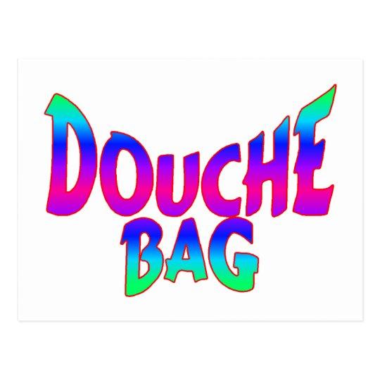 Douche Bag Postcard