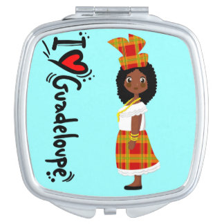 doudou créole+ Love Guadeloupe Vanity Mirrors