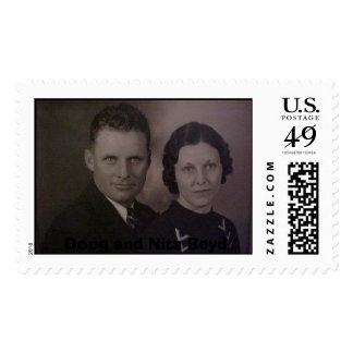 Doug and Nita Boyd Postage