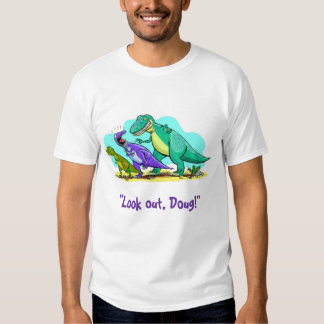 Doug el dinosaurio playeras