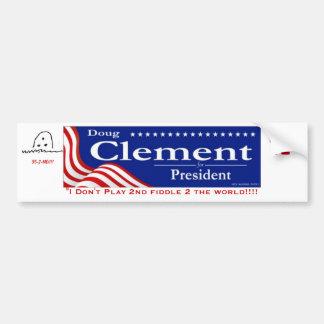 Doug For President Bumper Sticker
