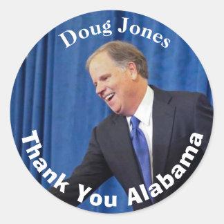 Doug Jones - Thank You Alabama Classic Round Sticker