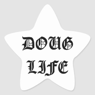 Doug Life Star Sticker