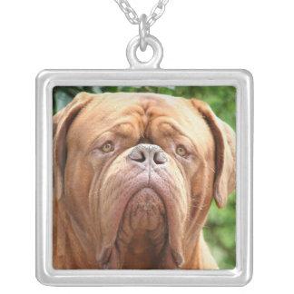Douge de Bordeaux (French Mastiff) Square Pendant Necklace