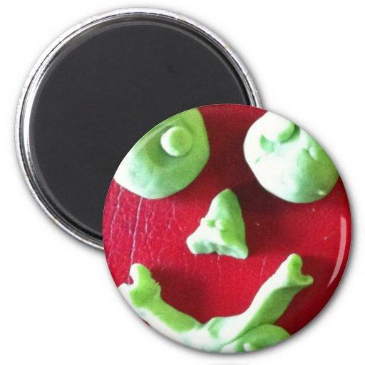 Dough Cartoon Face.jpg 2 Inch Round Magnet